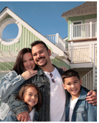 happy florida home owners using the FHA mortgage program